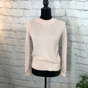 LOFT Light Pink Sweater/ XS